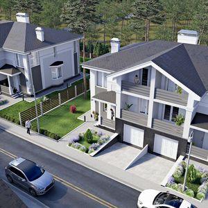 "Дуплекси ""NEW Cottage Residence"""