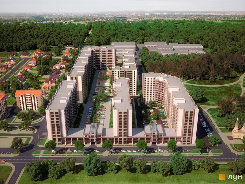 ЖК Софиевский квартал (ул. Ак. Шалимова)
