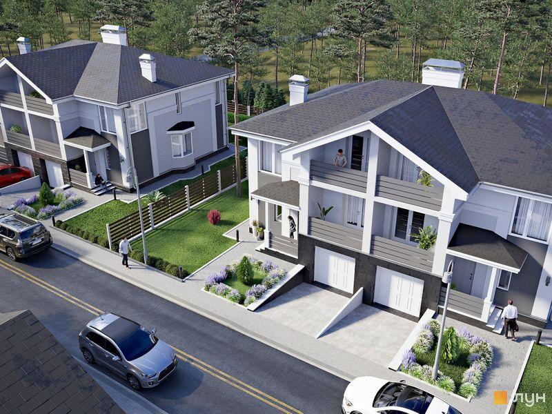 Дуплексы «NEW Cottage Residence 2»