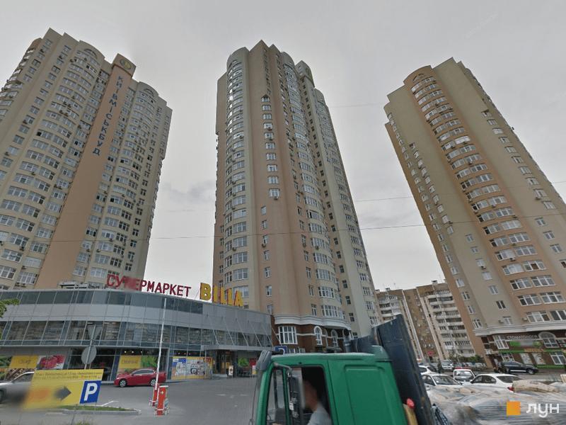 ул. Драгоманова (стройплощадки 1, 2, 3)