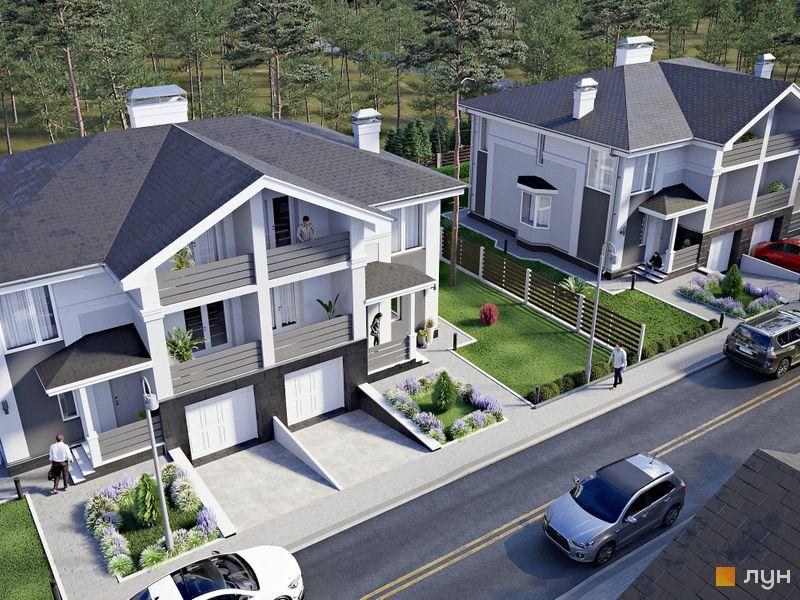 Дуплексы «NEW Cottage Residence 3»