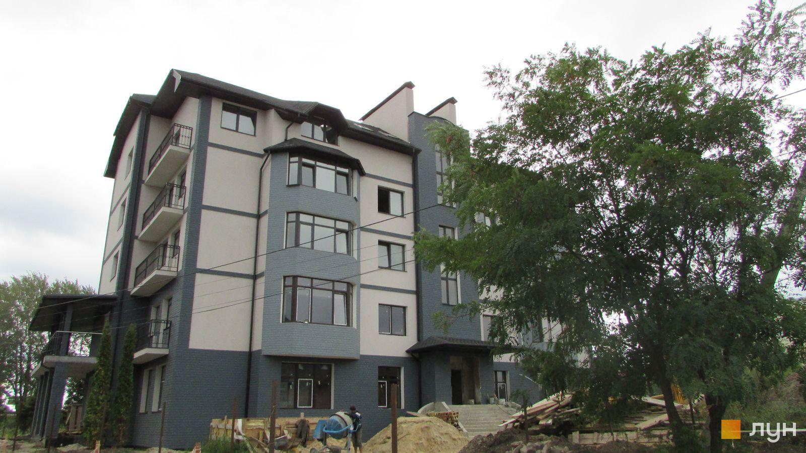 Ход строительства ЖК Ваша квартира, ул. Институтская, 101, сентябрь 2017