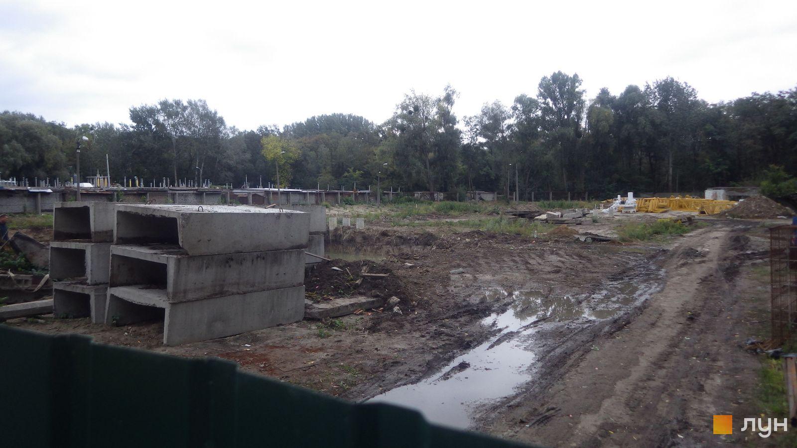 Хід будівництва ЖК Авеню 42, , вересень 2018