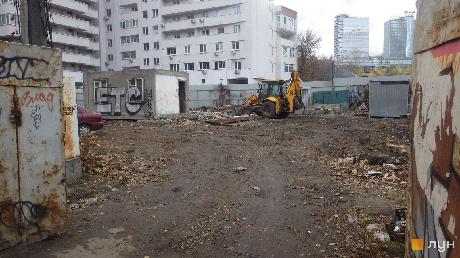 Ход строительства ул. Казимира Малевича, 44, 46, , октябрь 2018