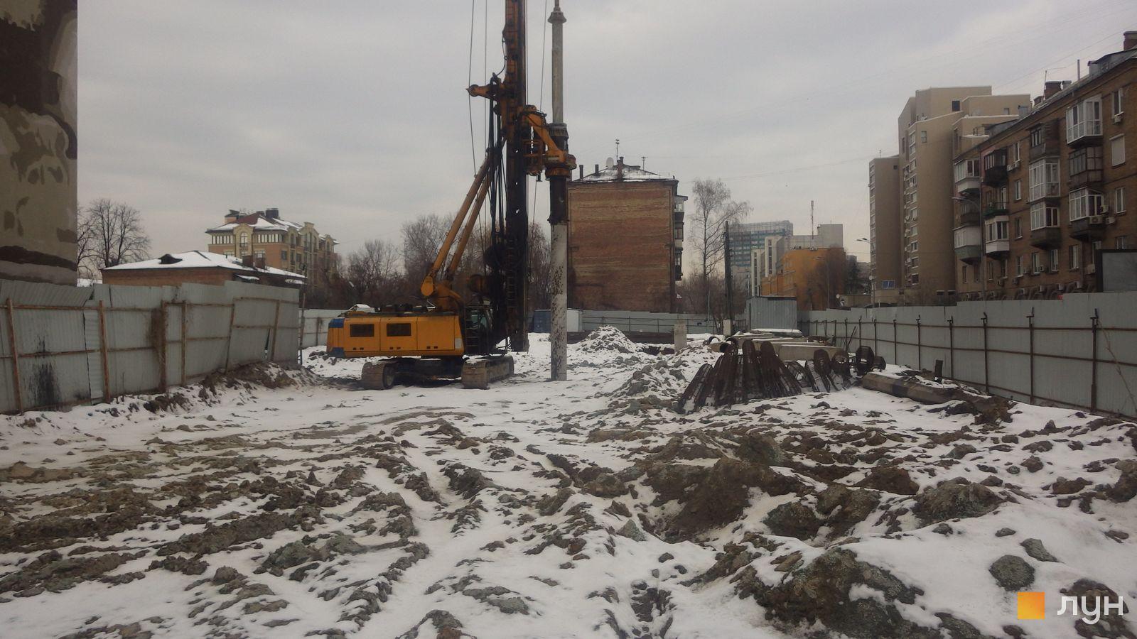 Ход строительства ул. Казимира Малевича, 44, 46, , январь 2019