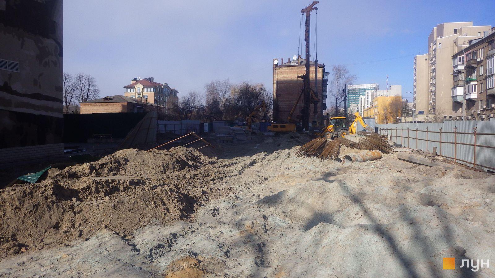 Ход строительства ул. Казимира Малевича, 44, 46, , февраль 2019