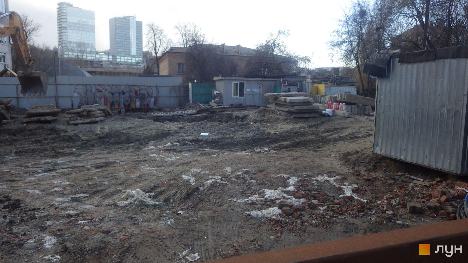 Ход строительства ул. Казимира Малевича, 44, 46, , март 2019