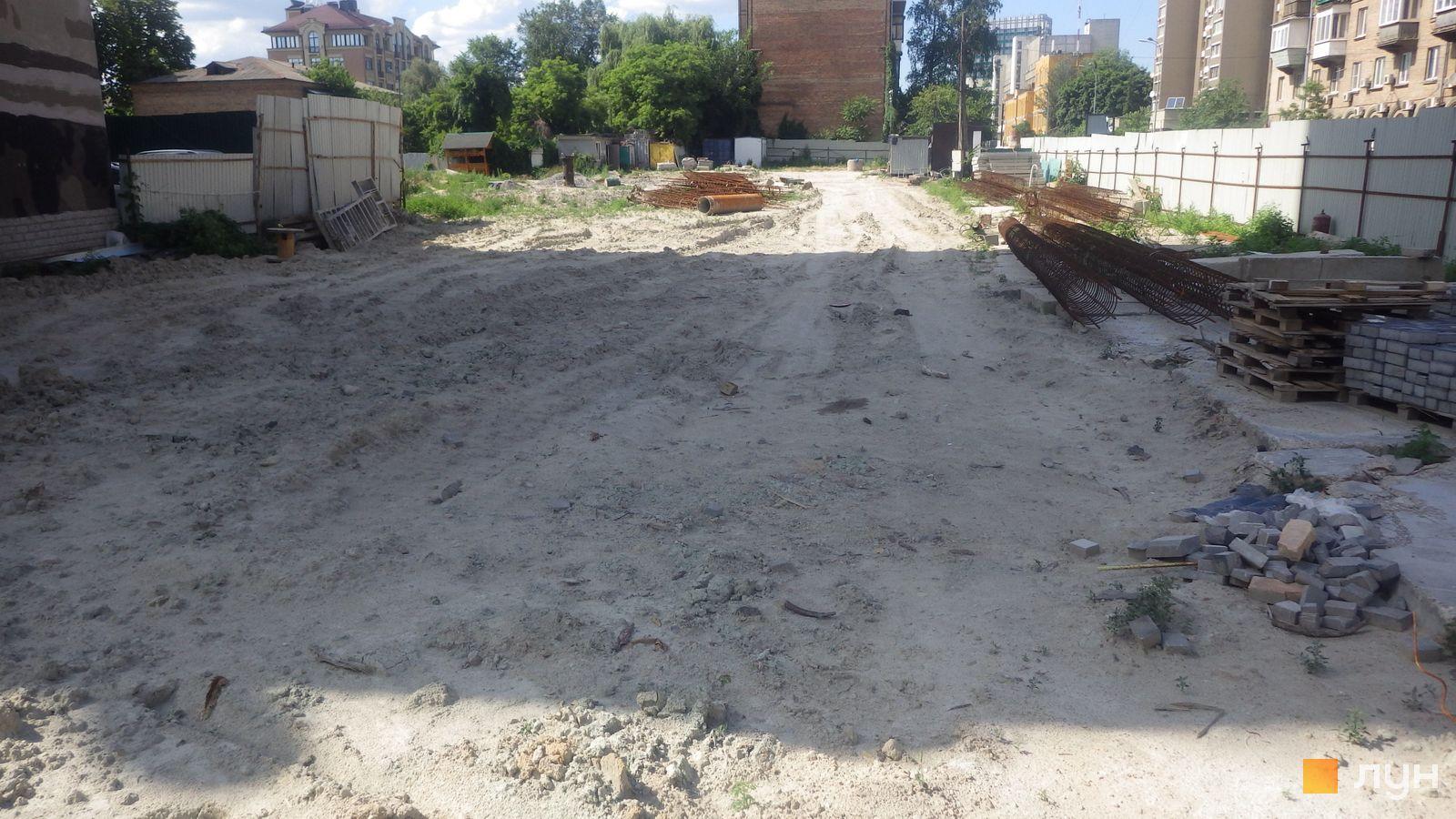 Ход строительства ул. Казимира Малевича, 44, 46, , июнь 2019