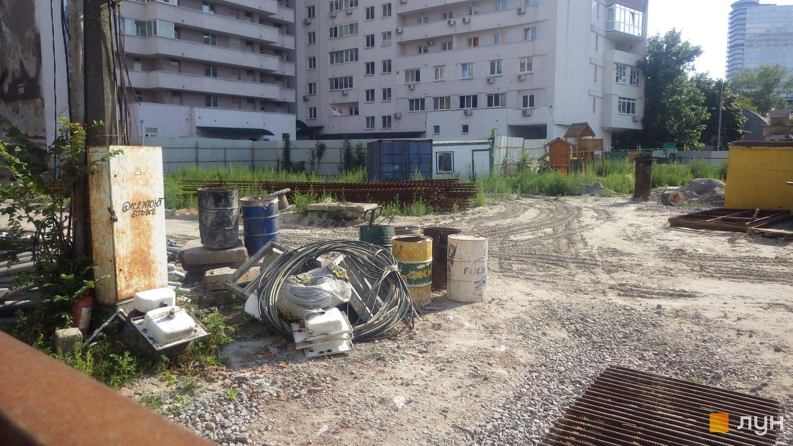 Ход строительства ул. Казимира Малевича, 44, 46, , июль 2019