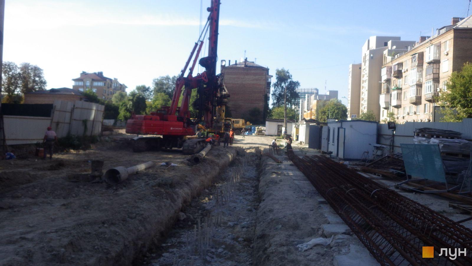 Ход строительства ул. Казимира Малевича, 44, 46, , август 2019