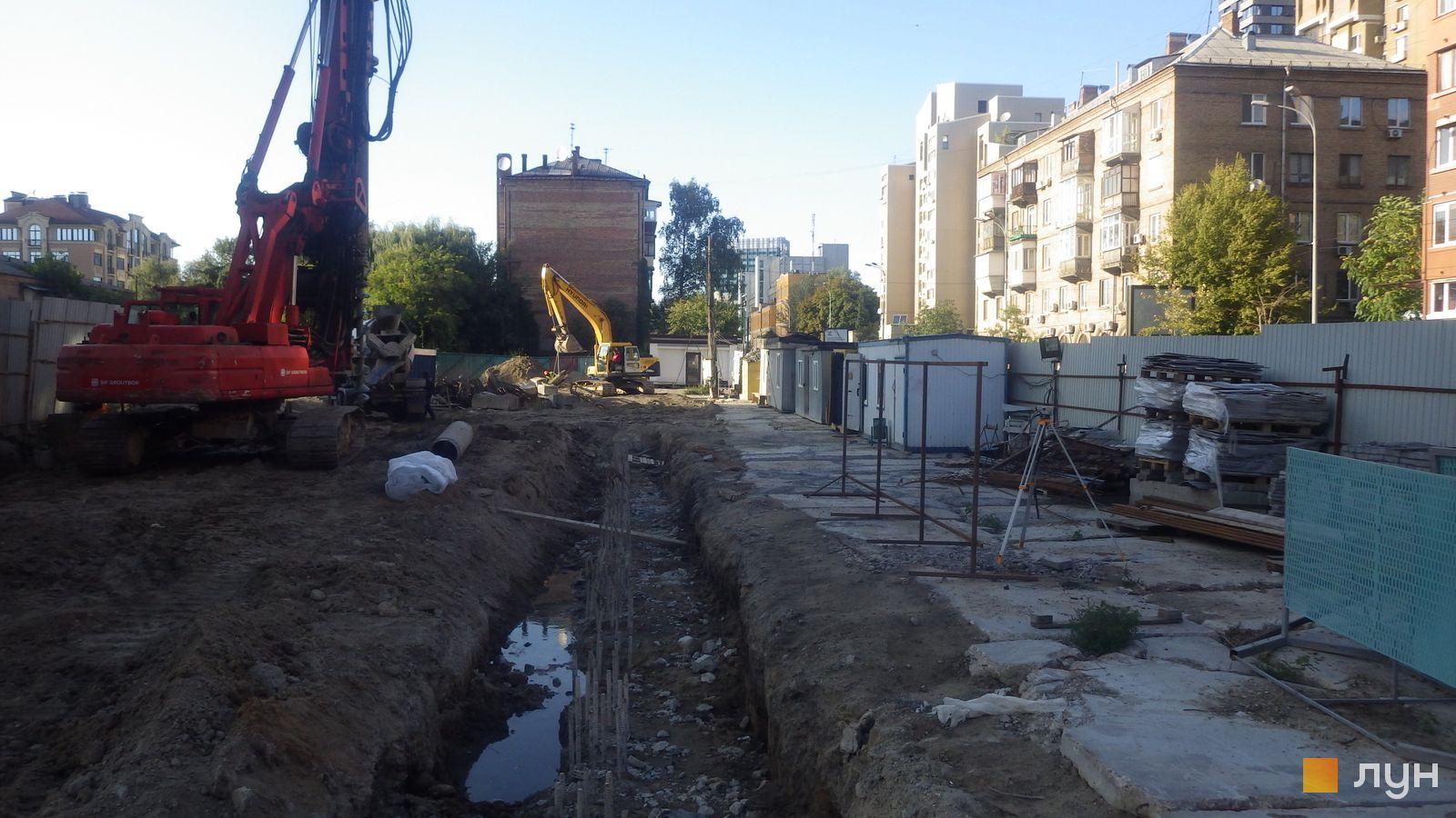 Ход строительства ул. Казимира Малевича, 44, 46, , сентябрь 2019