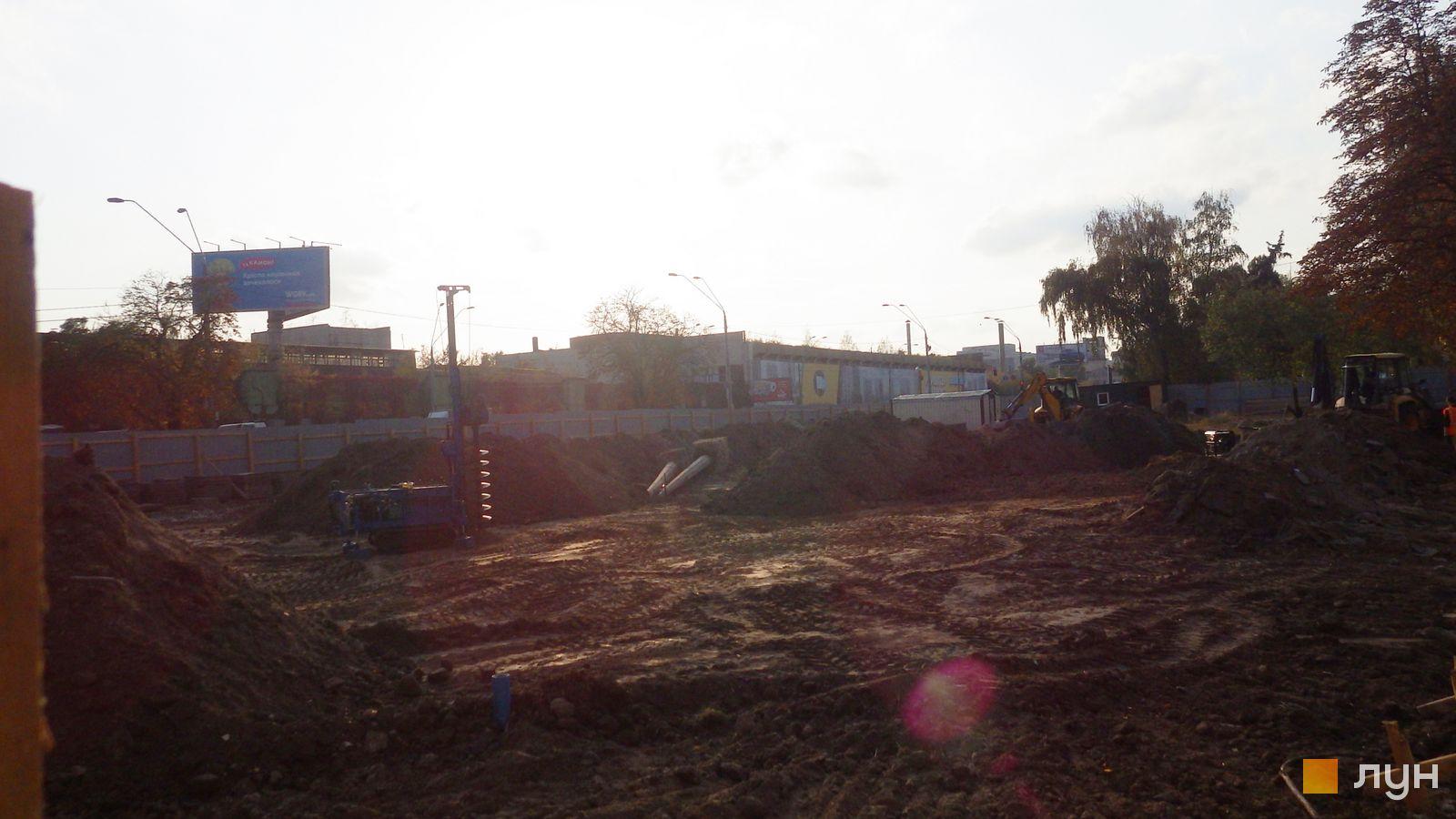 Ход строительства МФК 50Avenue, , октябрь 2019