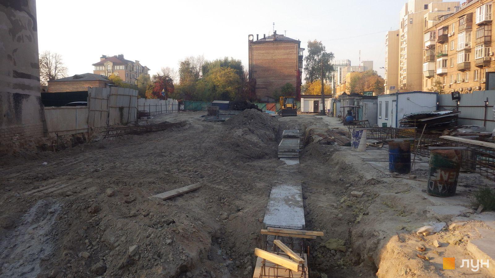 Ход строительства ул. Казимира Малевича, 44, 46, , октябрь 2019