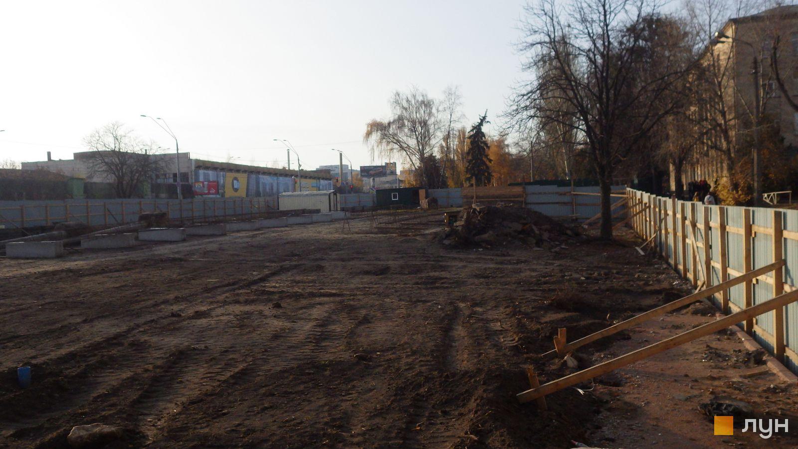 Ход строительства МФК 50Avenue, , ноябрь 2019
