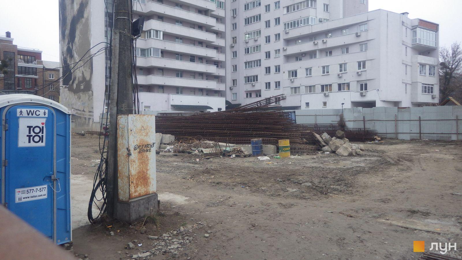 Ход строительства ул. Казимира Малевича, 44, 46, , ноябрь 2019