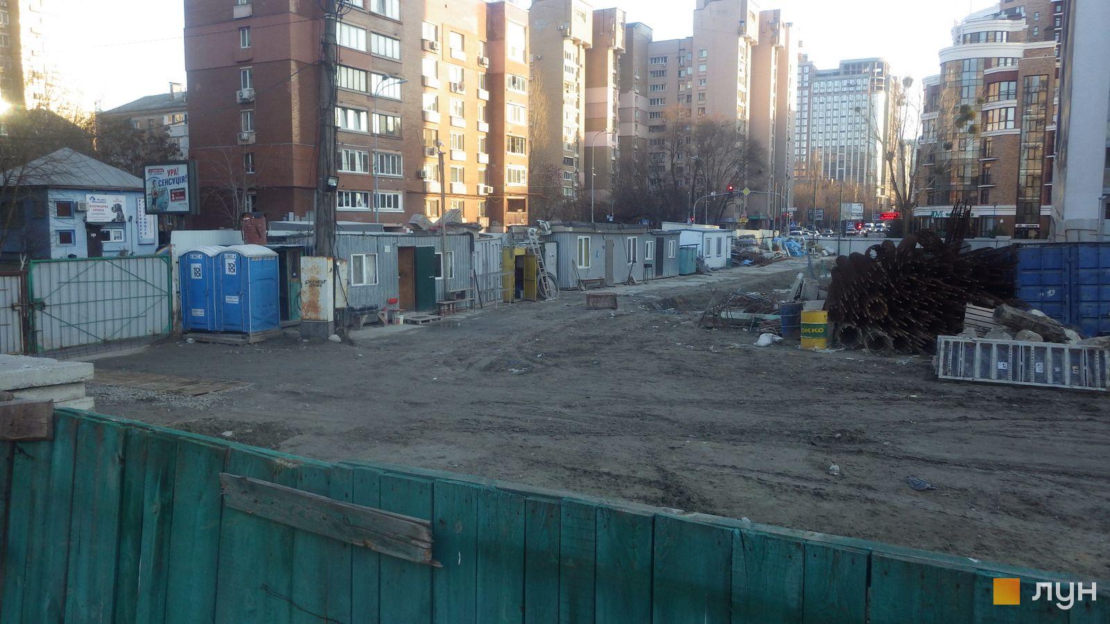 Ход строительства ул. Казимира Малевича, 44, 46, , декабрь 2019
