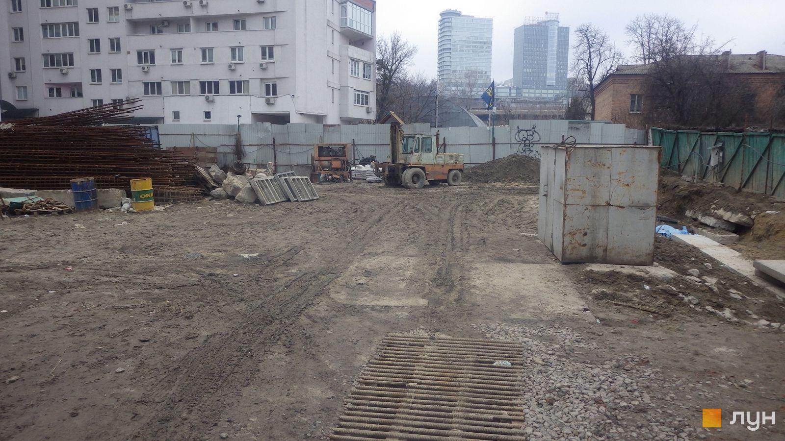 Ход строительства ул. Казимира Малевича, 44, 46, , январь 2020