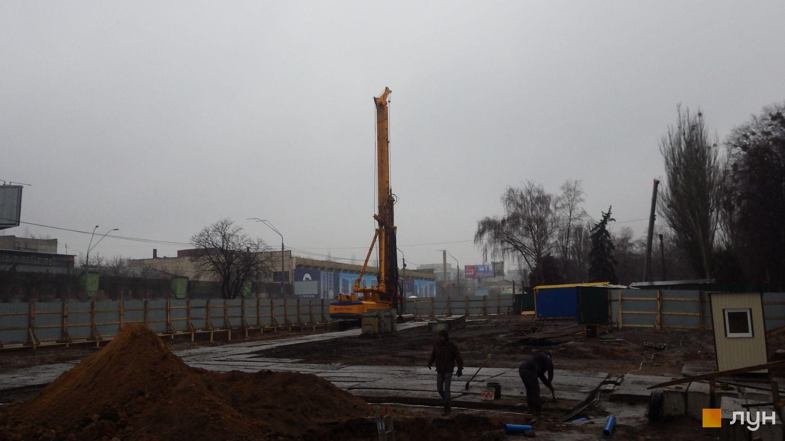 Ход строительства МФК 50Avenue, , январь 2020