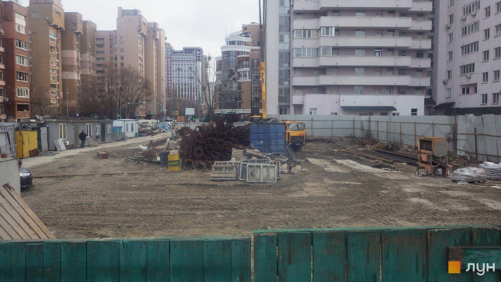Ход строительства ул. Казимира Малевича, 44, 46, , февраль 2020