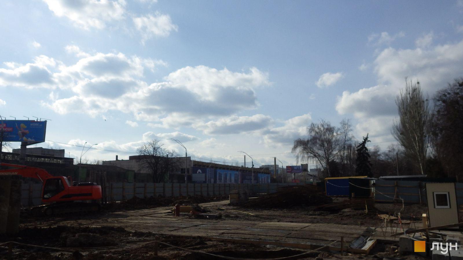 Ход строительства МФК 50Avenue, , февраль 2020