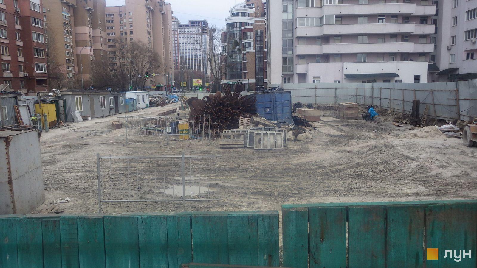 Ход строительства ул. Казимира Малевича, 44, 46, , март 2020