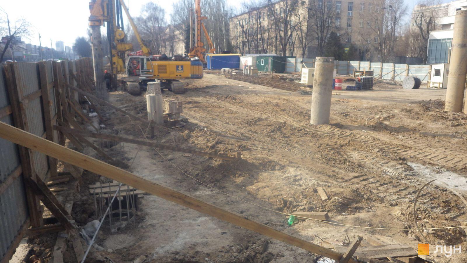 Ход строительства МФК 50Avenue, , март 2020