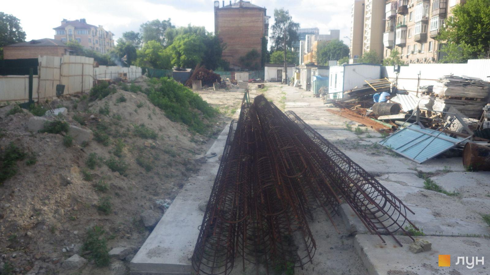 Ход строительства ул. Казимира Малевича, 44, 46, , июнь 2020