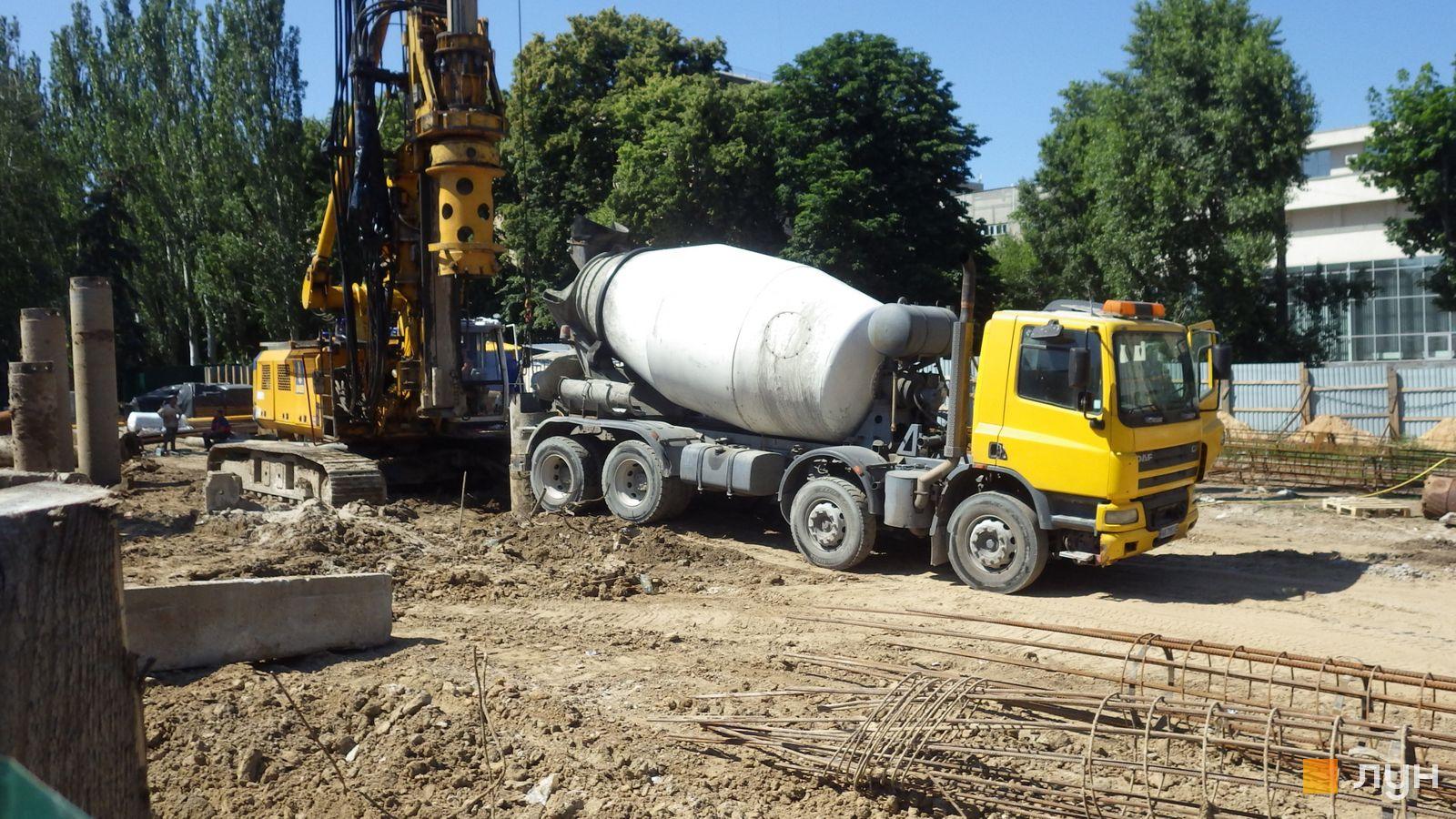 Ход строительства МФК 50Avenue, , июнь 2020