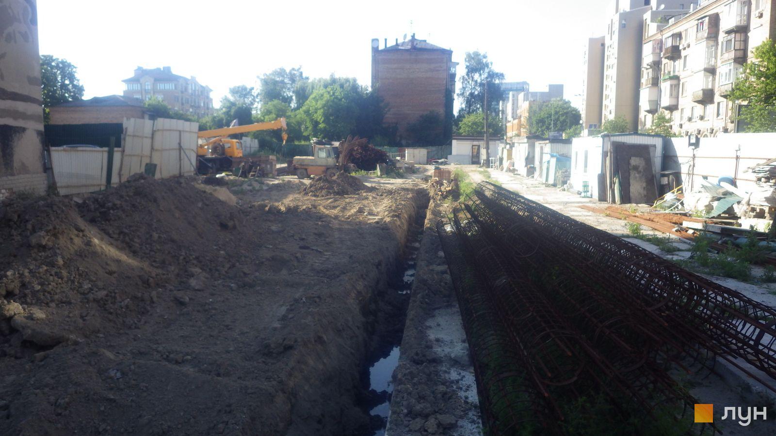 Ход строительства ул. Казимира Малевича, 44, 46, , июль 2020