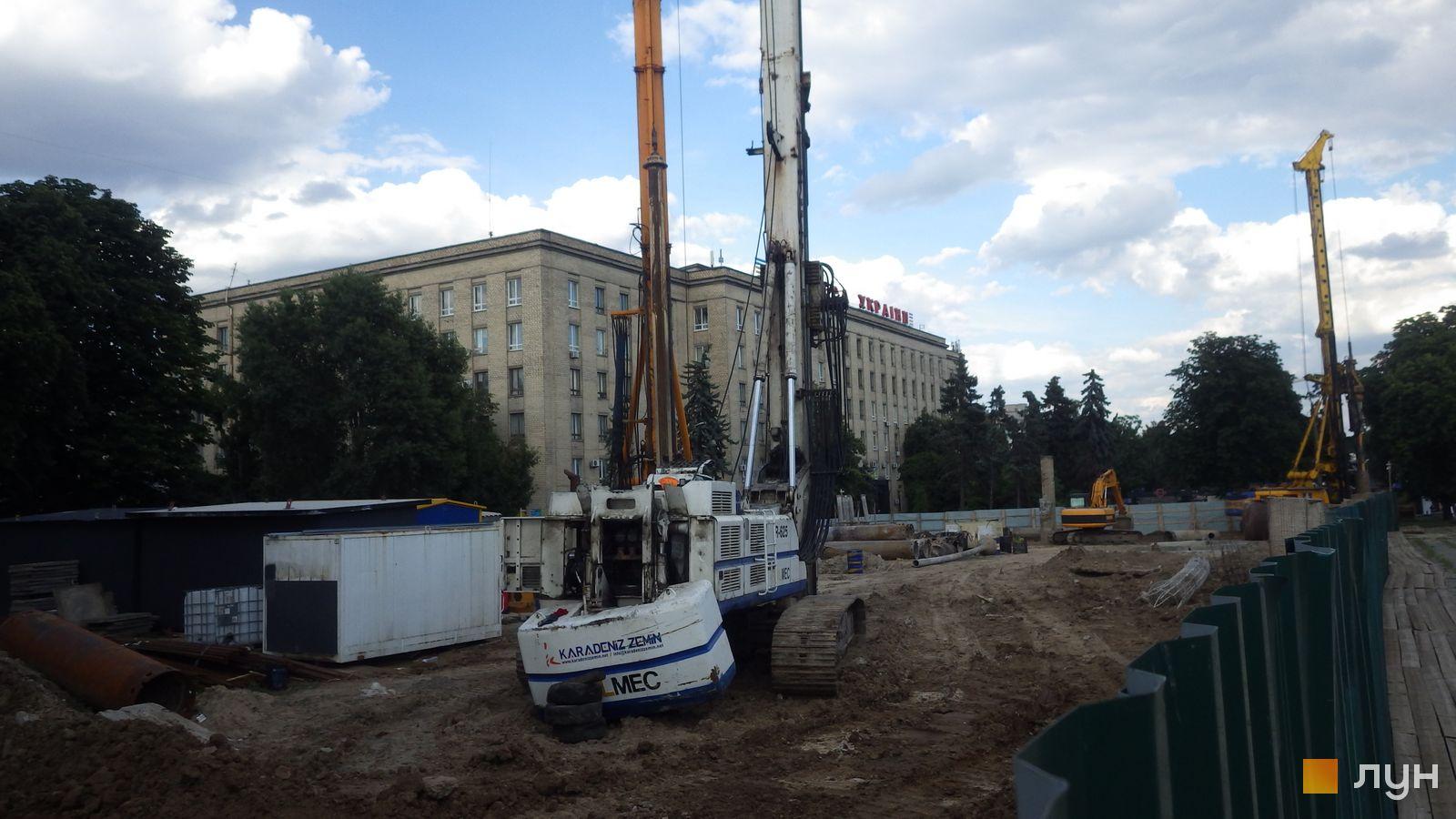 Ход строительства МФК 50Avenue, , июль 2020