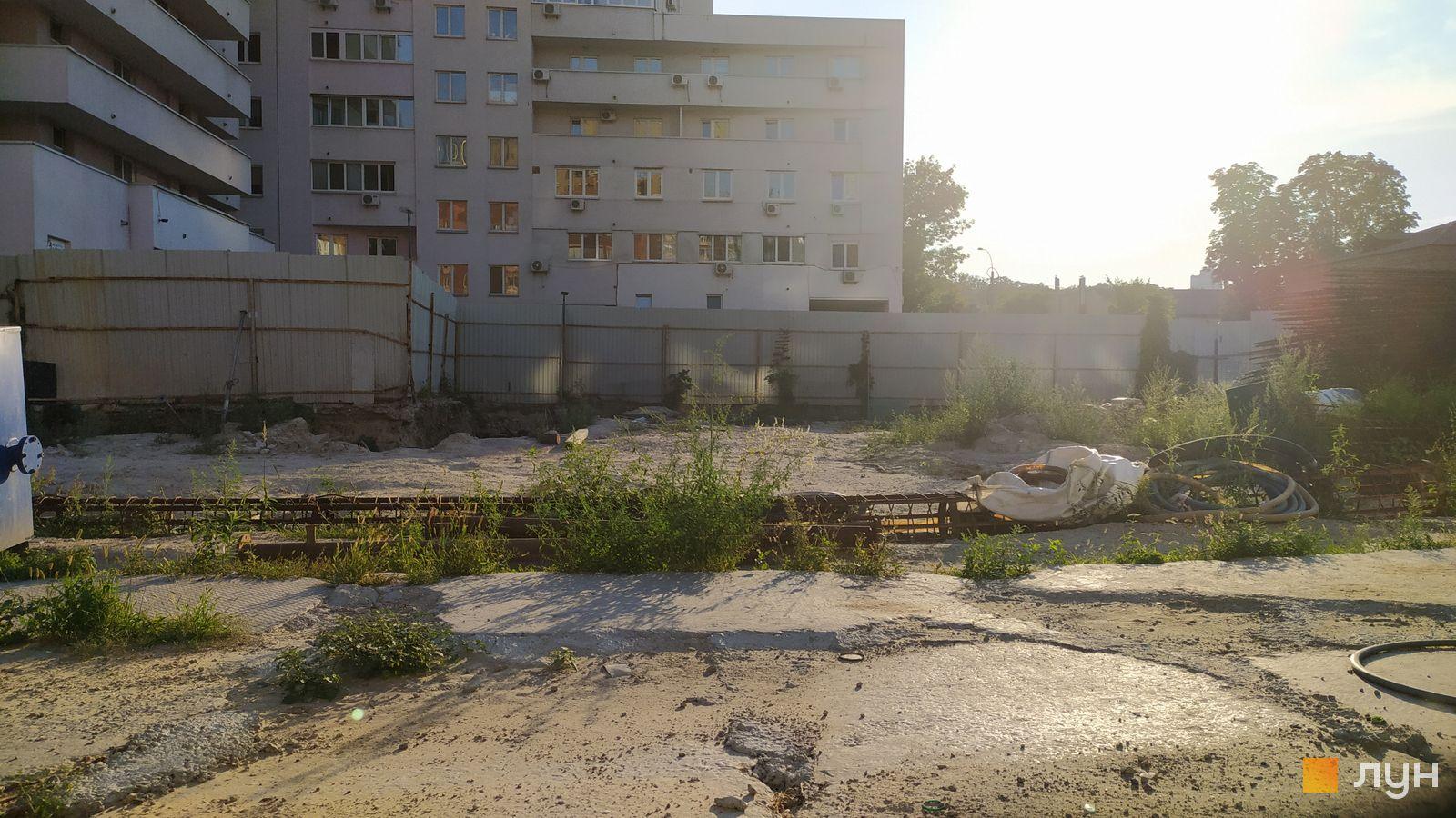 Ход строительства ул. Казимира Малевича, 44, 46, , август 2020