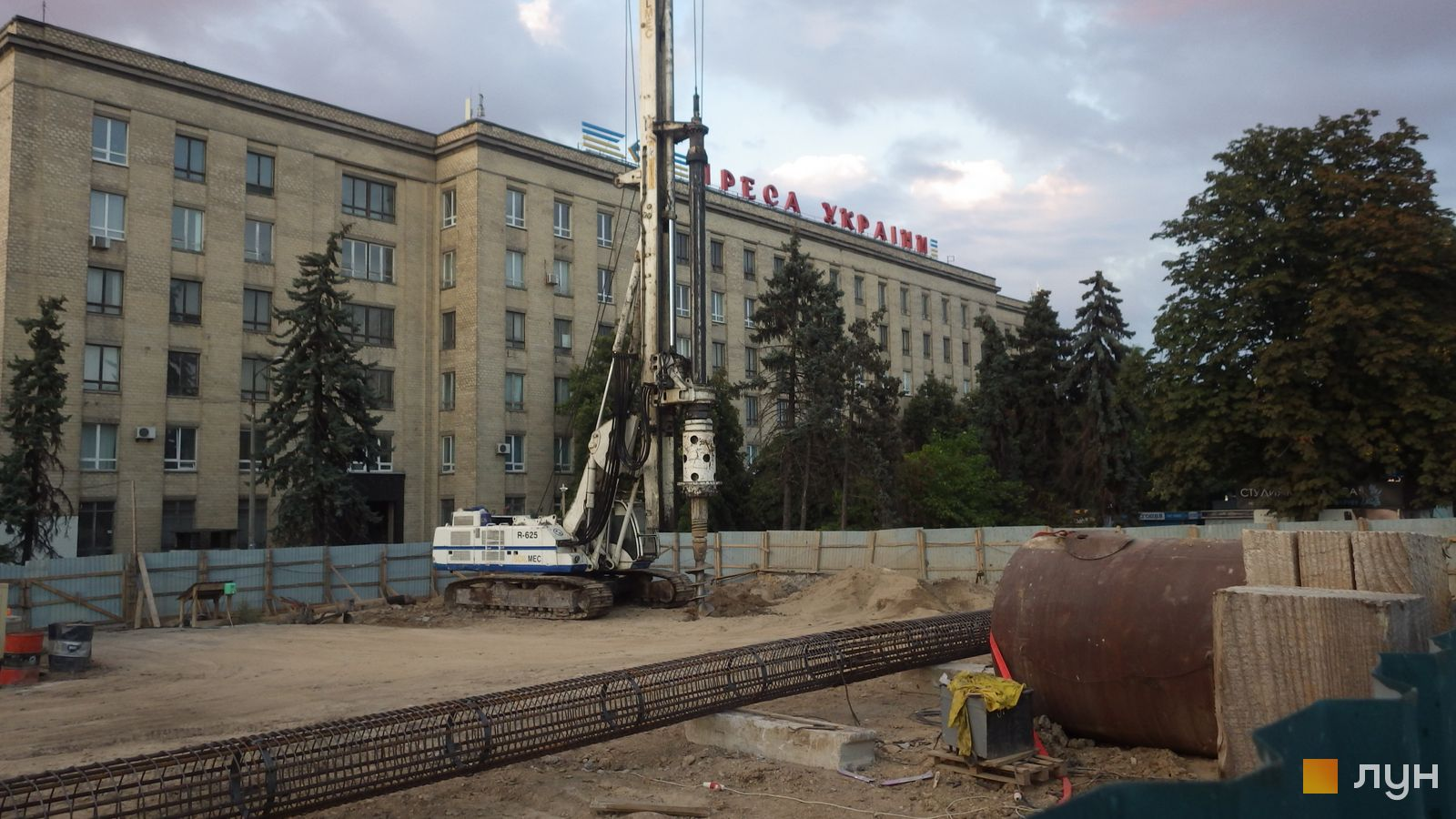 Ход строительства МФК 50Avenue, , август 2020