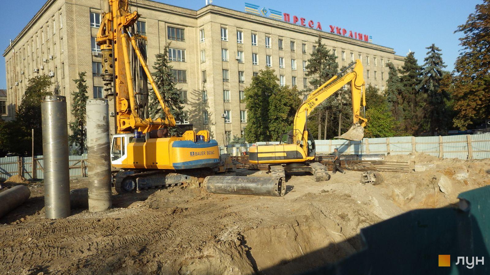 Ход строительства МФК 50Avenue, , сентябрь 2020