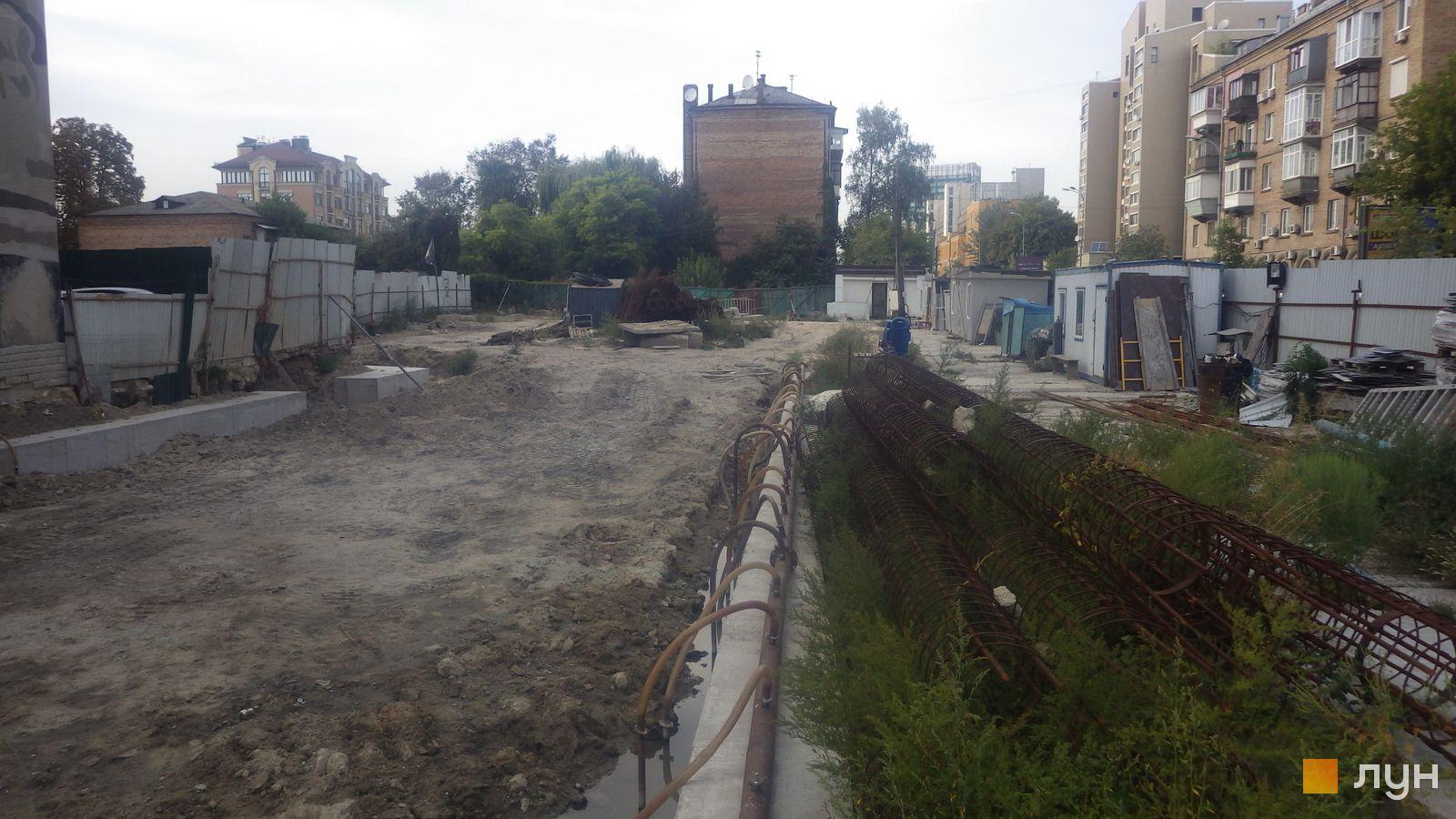 Ход строительства ул. Казимира Малевича, 44, 46, , сентябрь 2020