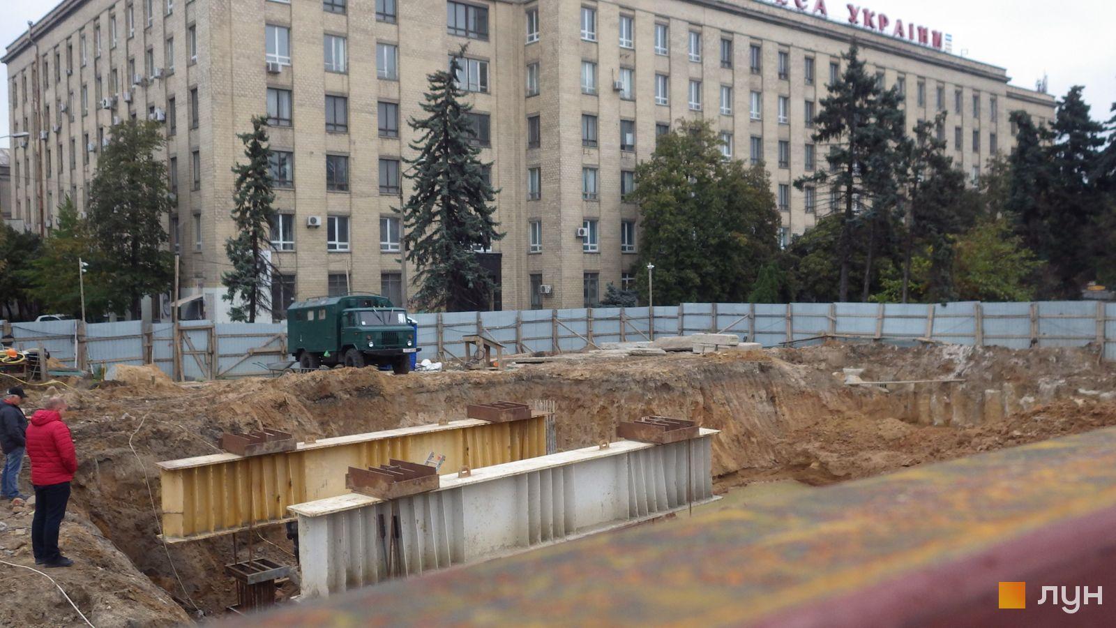 Ход строительства МФК 50Avenue, , октябрь 2020
