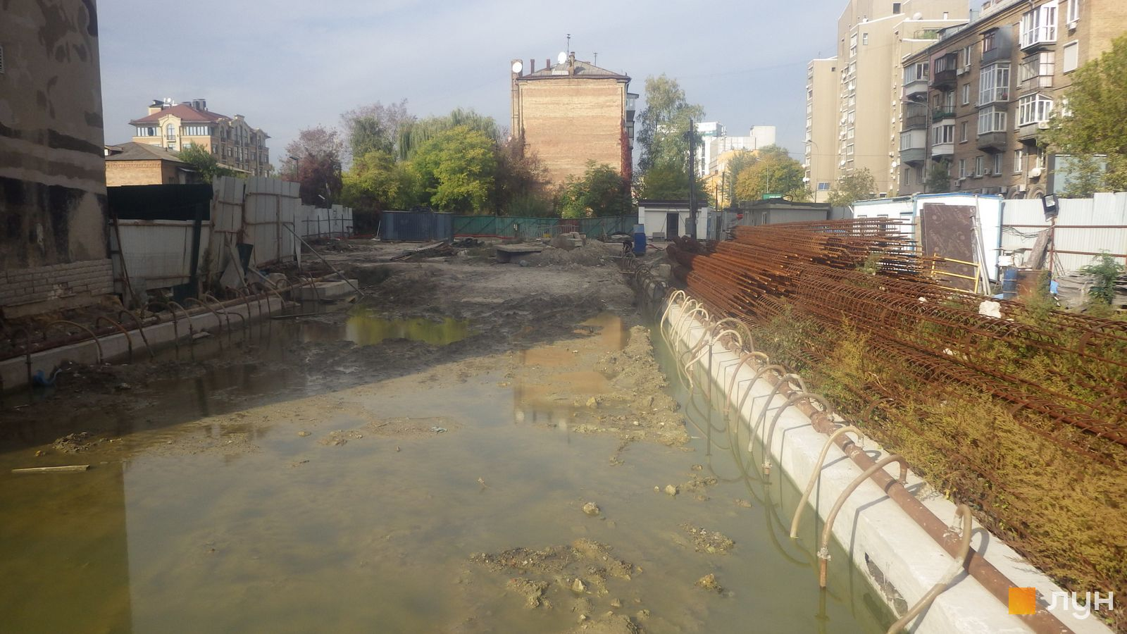 Ход строительства ул. Казимира Малевича, 44, 46, , октябрь 2020