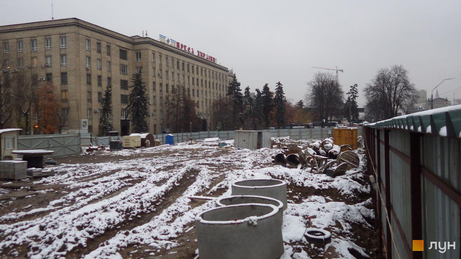 Ход строительства МФК 50Avenue, , ноябрь 2020