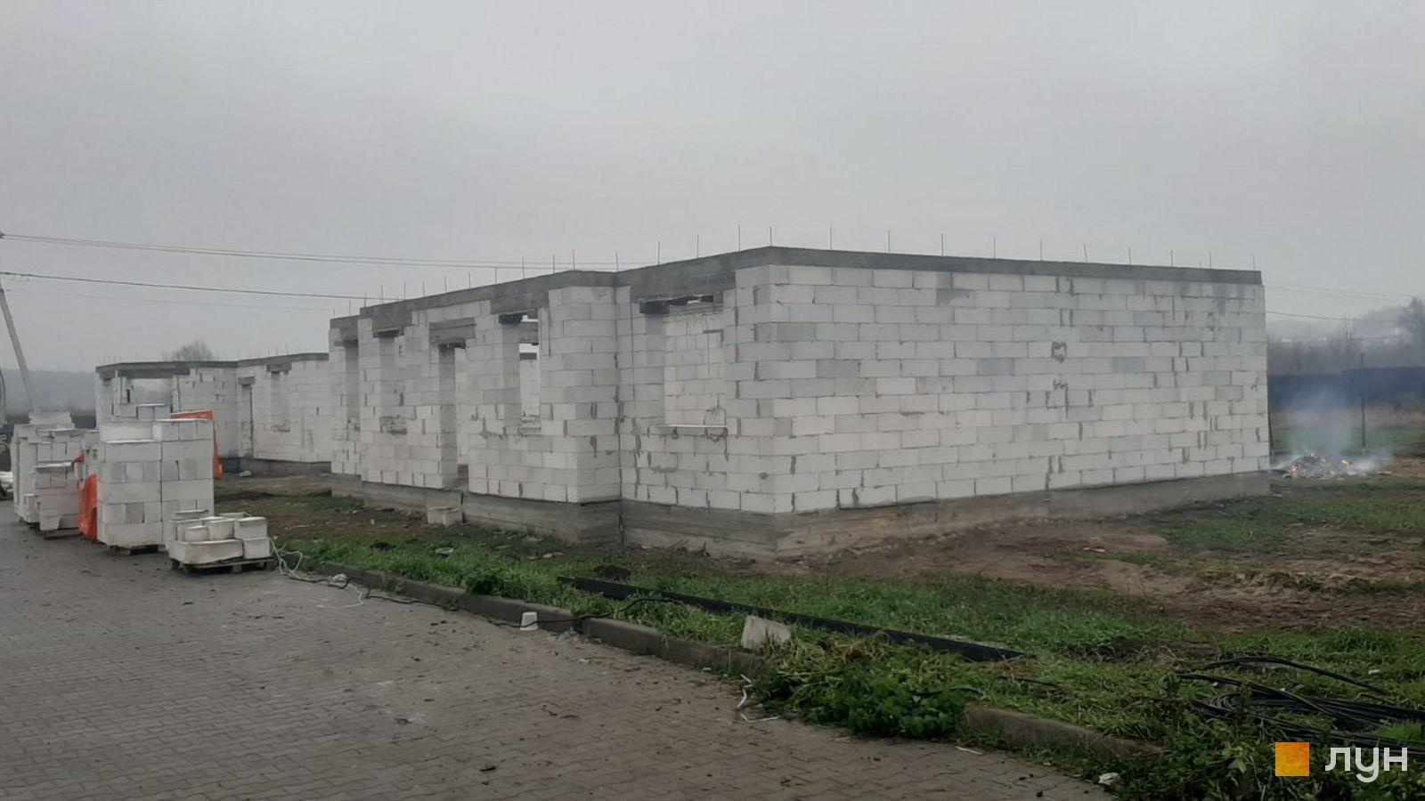 Хід будівництва КМ Тарасівка, , листопад 2020