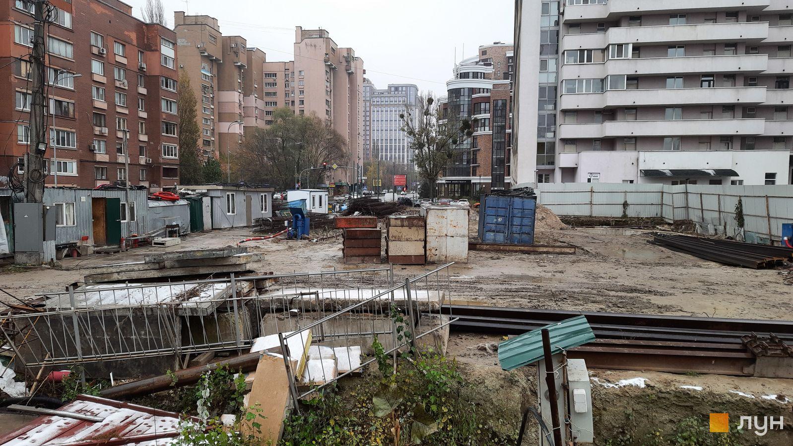 Ход строительства ул. Казимира Малевича, 44, 46, , ноябрь 2020