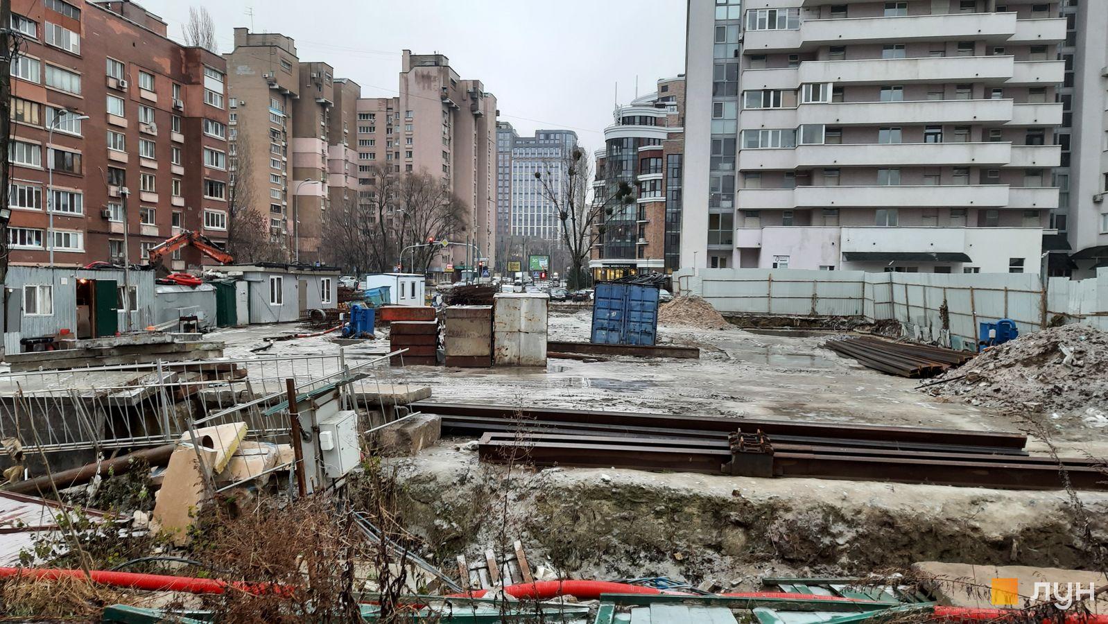 Ход строительства ул. Казимира Малевича, 44, 46, , декабрь 2020