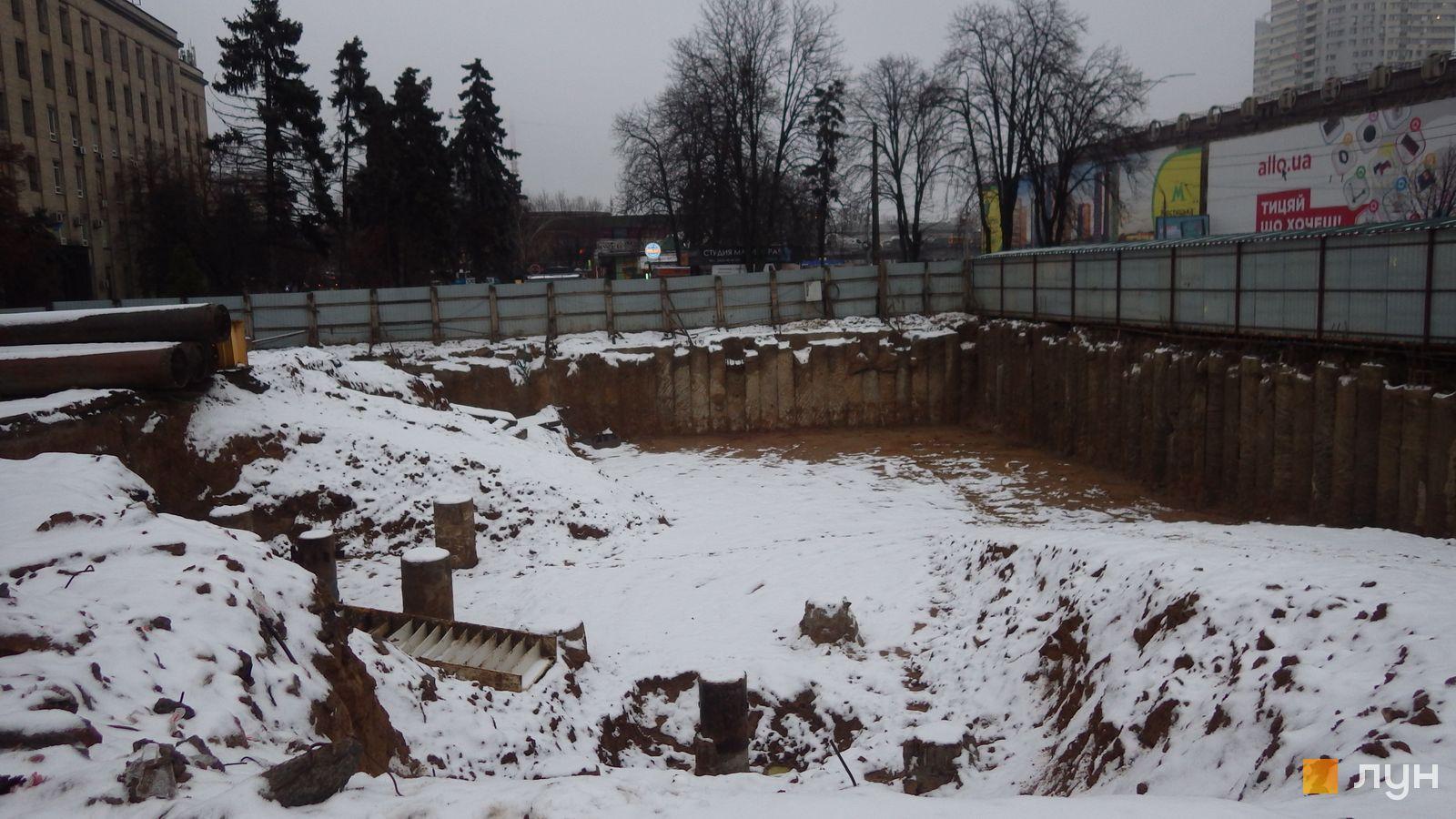 Ход строительства МФК 50Avenue, , декабрь 2020
