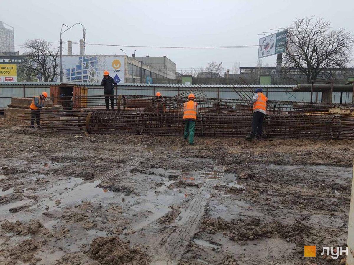 Ход строительства МФК 50Avenue, , январь 2021