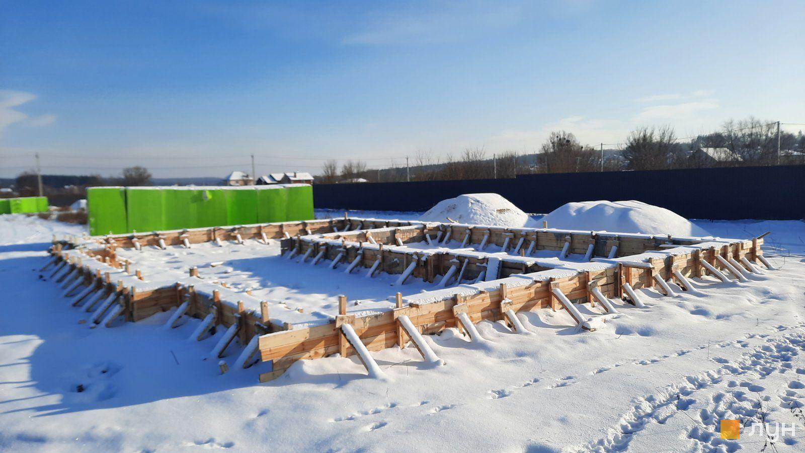 Хід будівництва КМ Тарасівка, , січень 2021