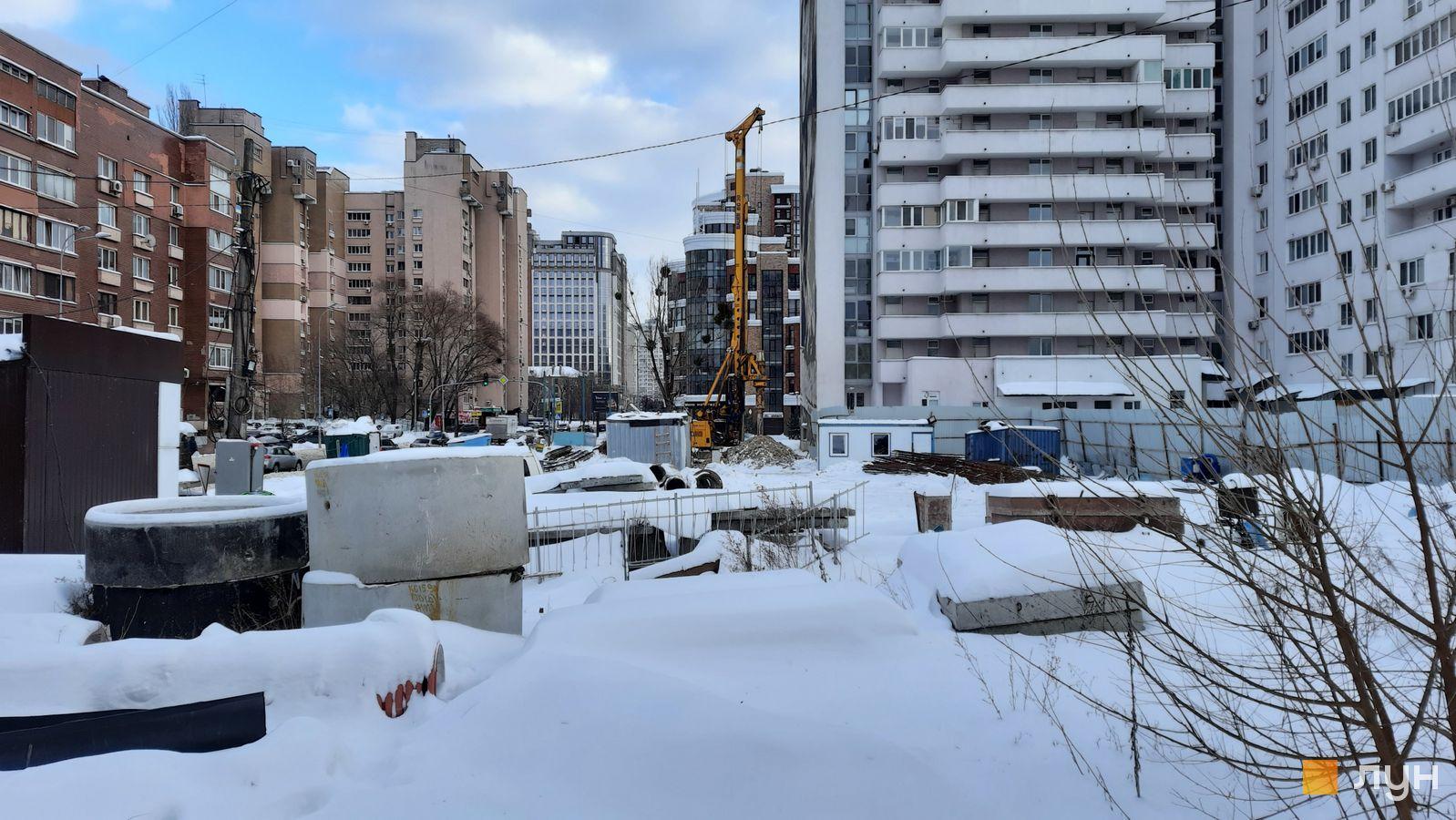 Ход строительства ул. Казимира Малевича, 44, 46, , февраль 2021