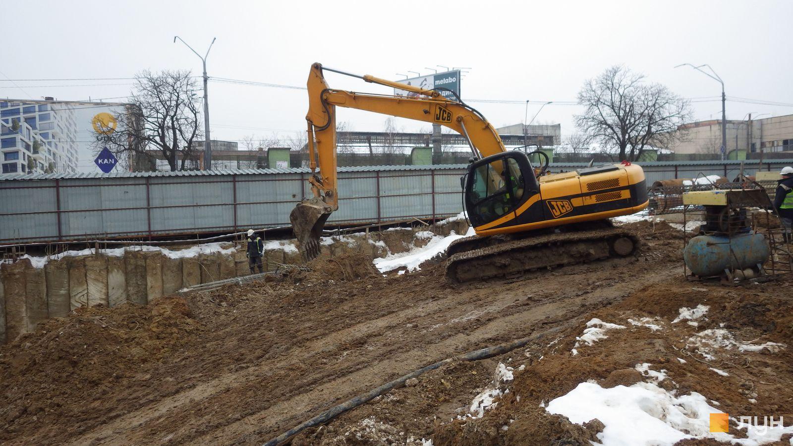Ход строительства МФК 50Avenue, , февраль 2021