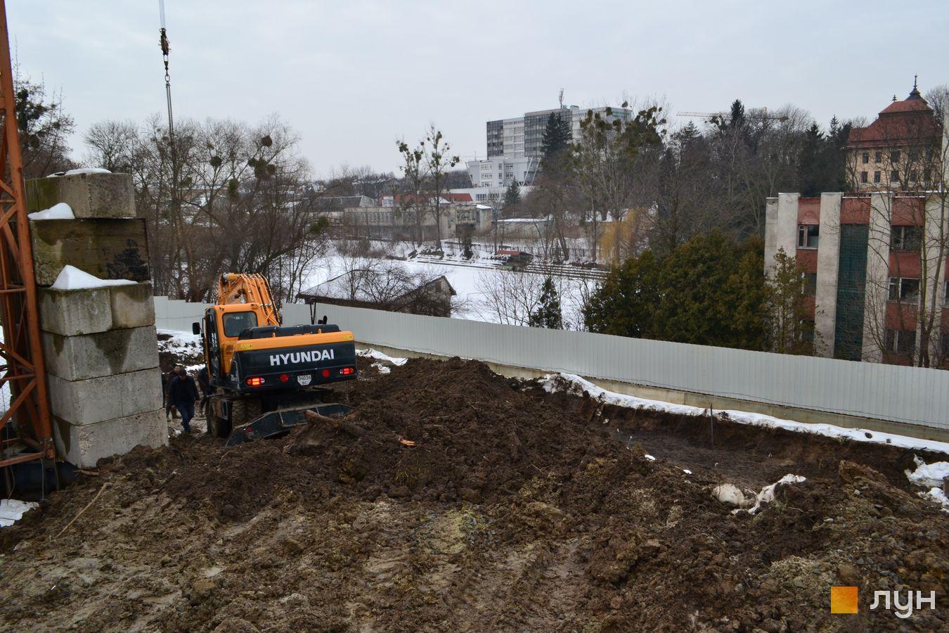 Ход строительства ул. Красная, 17, , февраль 2021