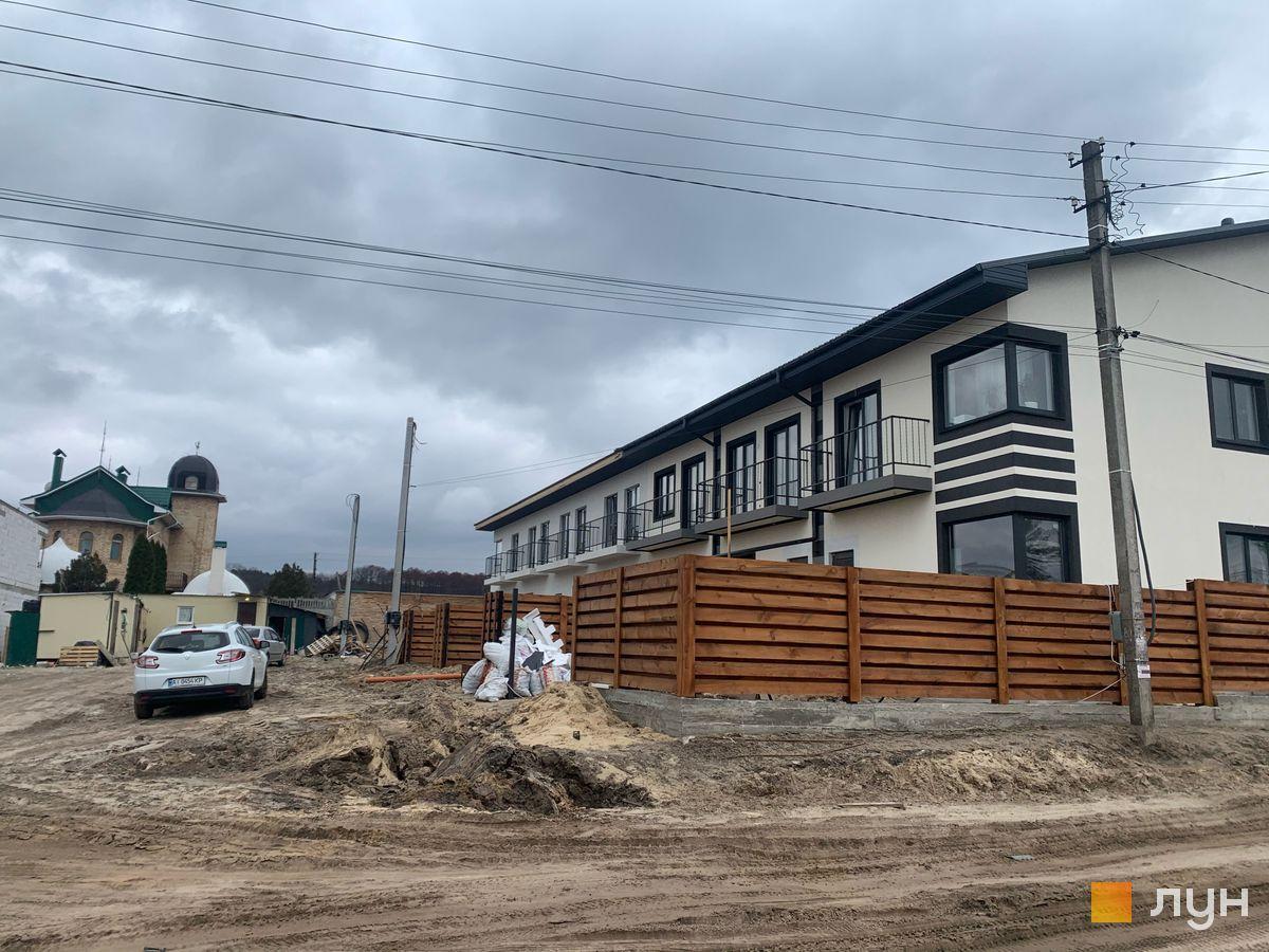 Ход строительства Таунхаусы Smart House, , март 2021