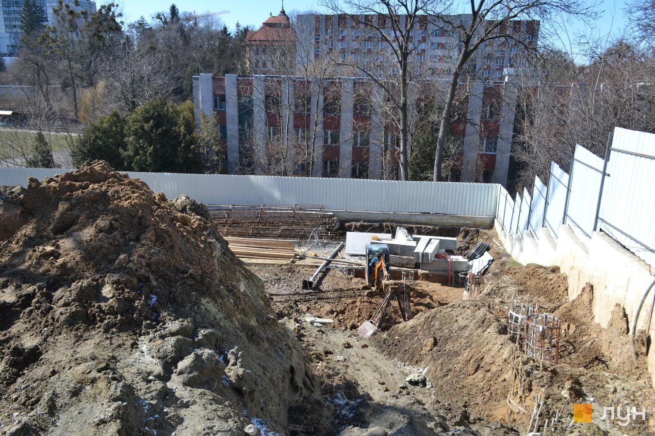 Ход строительства ул. Красная, 17, , март 2021