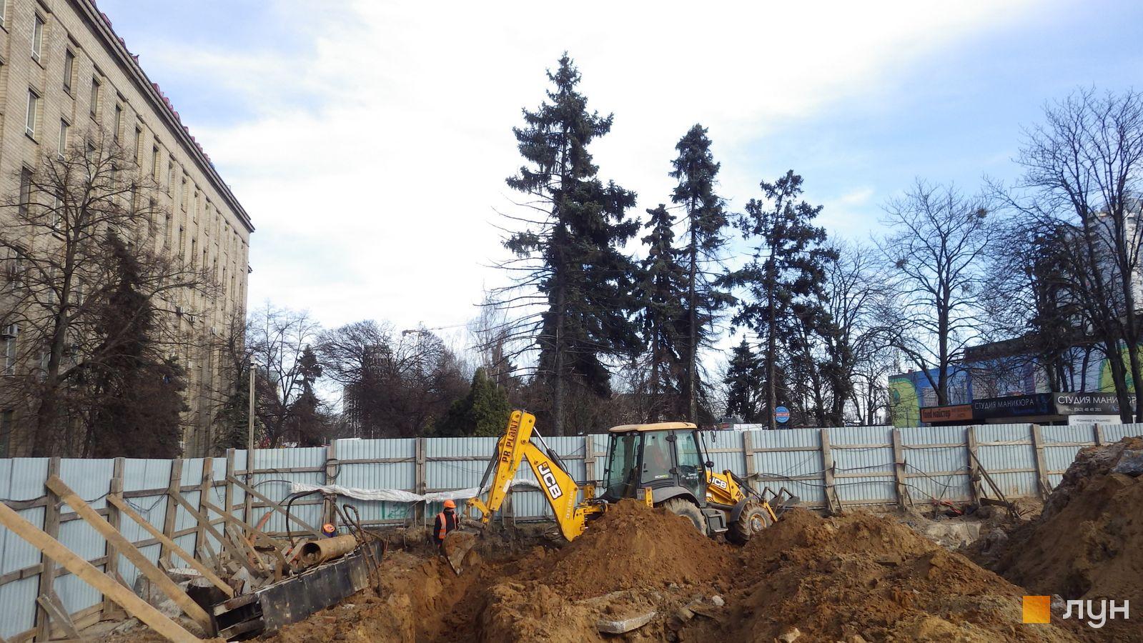 Ход строительства МФК 50Avenue, , март 2021