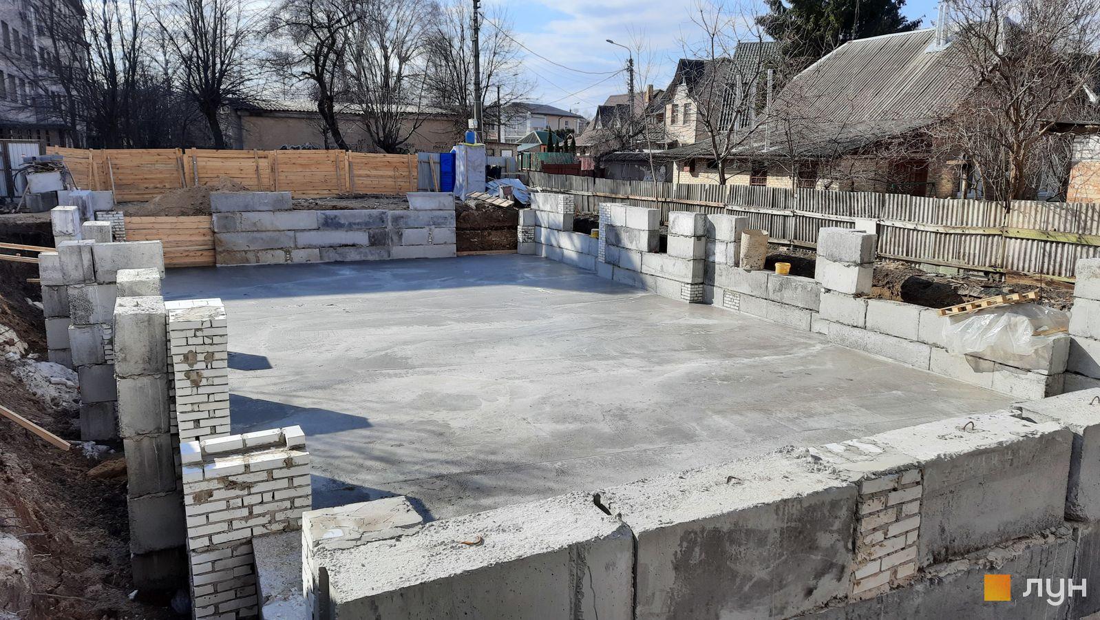 Хід будівництва ЖК Estonsky Concept Club House, Будинок, березень 2021